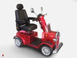 scooter anziani manubrio regolabile