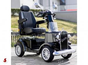scooter anziani nero