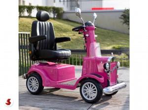 scooter anziani pink