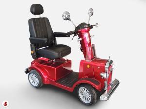 scooter anziani poggiatesta regolabile