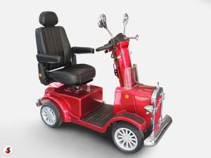 scooter anziani sedile indietro