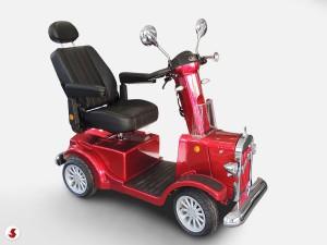 scooter anziani sedile reclinato
