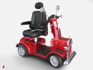 scooter anziani sedile ruotato