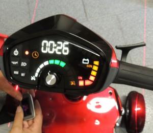 scooter disabili pieghevole chiave intelligente