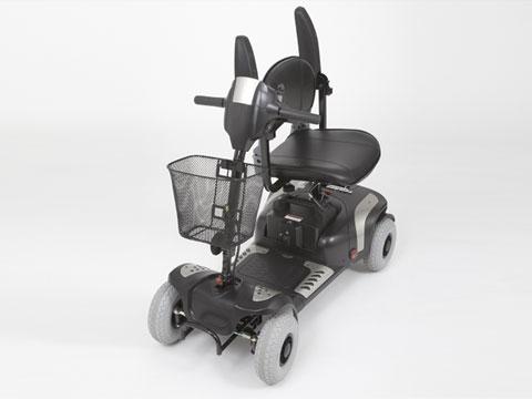 scooter elettrico GIOIA con sedile ruotato