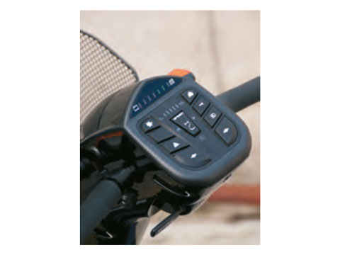 cruscotto scooter anziani Libero 110 BLU