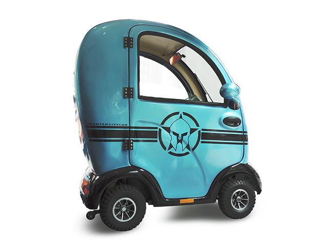 scooter per anziani cabinato personalizzato