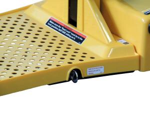 scooter pieghevole trolley blocco pianale pieghevole