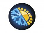 simbolo relolazione calore del supporto lombare della poltrona