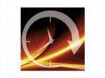 simbolo timer per controllo calore del supporto lombare poltrona