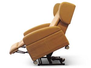 sollevamento posteriore poltrona antidecubito elevabile reclinata
