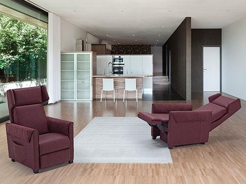Poltrone relax ufficio e casa il benessere sempre con voi for Poltrone ufficio roma