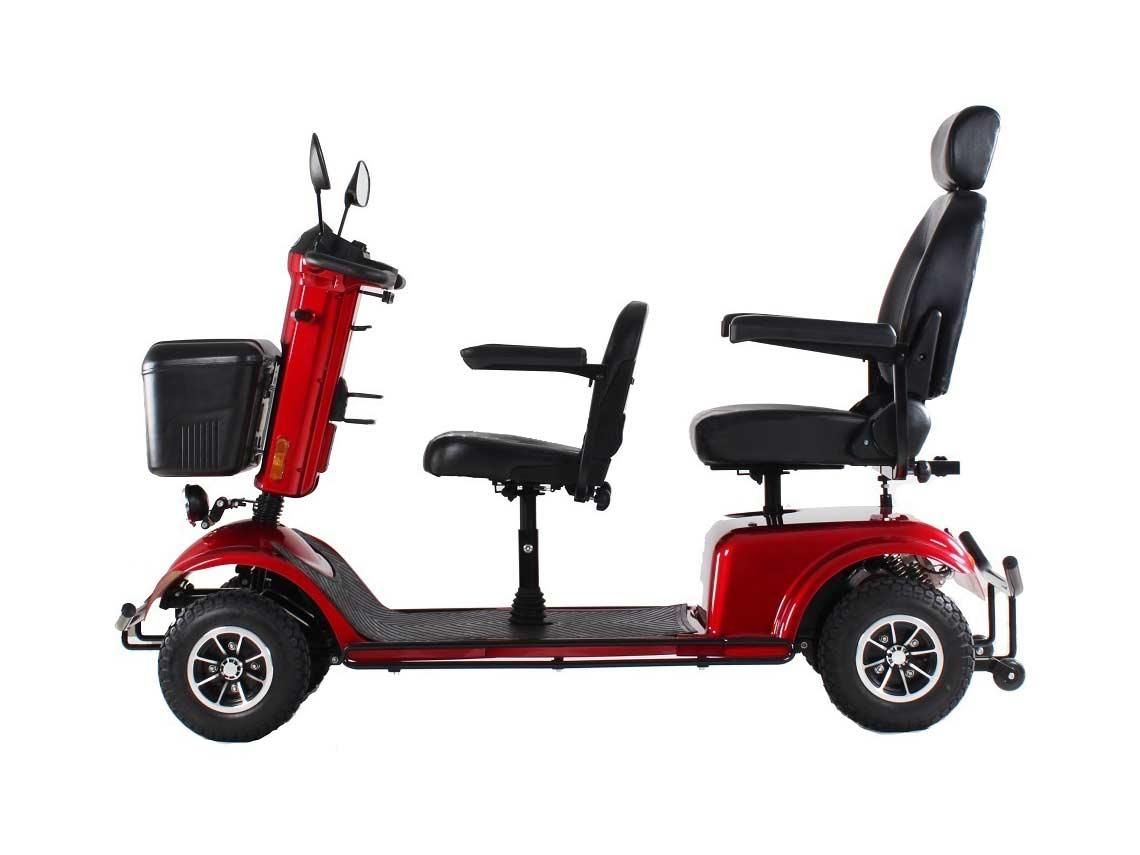 scooter elettrico due posti per anziani e disabili