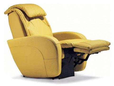 poltrona relax massaggiante ibiza con alzapiedi esteso