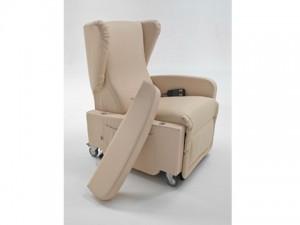 poltrona relax per disabili gilda con bracciolo smontato