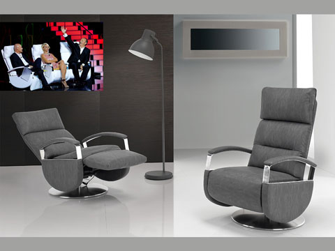 Poltrone relax design viste in tv poltrone relax e for Poltrone da tv