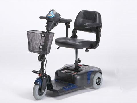 scooter elettrico anziani disabili uso cittadino MINI blu