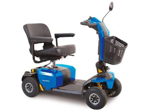 scooter per anziani disabili Libero LX con sospensioni CTS