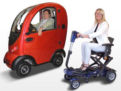 scooter elettrici per anziani e disabili